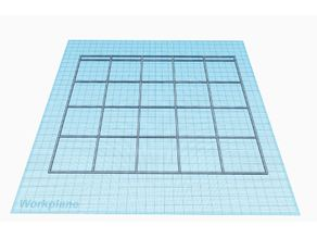 Original Prusa i3 MK2 Print Bed Layout Guide