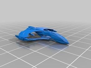Star Trek - Romulan Aelahl Class Light Warbird
