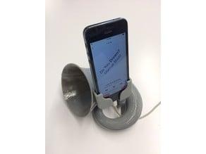 Cornucopia Exponential Horn iPhone Dock