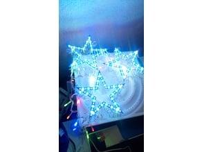 Star for Christmas lights series very cool
