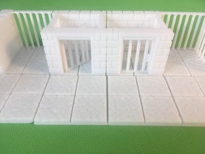 Prison Single Cells Cutstone (Openforge 2.0 compatible)