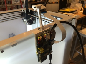 Raspberry Pi + Camera mount for Ultimaker2