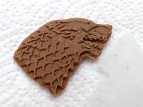 House Stark Sigil Chocolate