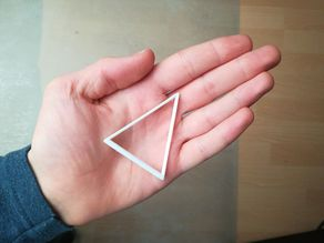 Fidget Triangle, Stress Relieving Triangle