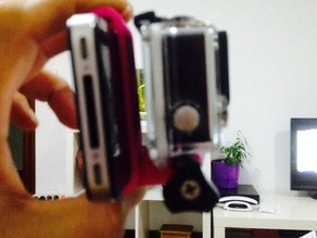 Gopro Hero mount for Iphone 4 / 4S