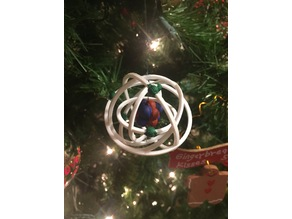 Tombo's Carbon Atom Ornament