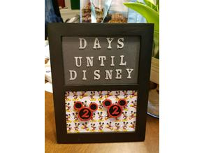 Disney Countdown Magnets