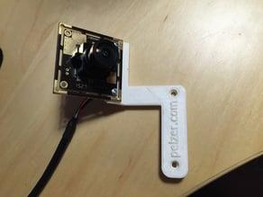 Wide-angle camera mount for Flashforge Dreamer / Dremel Idea Builder