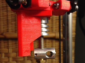 Kossel Mini hot end mount for AluHotend