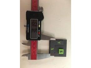 dual extrusion test for tuning offset second end - pièce de réglage offset 2eme buse