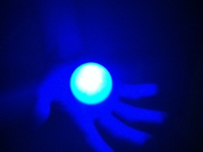 LED Throwie Ball