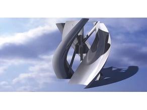 Wind turbine savoniov helix