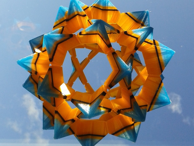 Electra 3d Printed Modular Origami By Auntdaisy Thingiverse