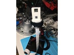 Dual-camera holder (raspberry pi and flir lepton)