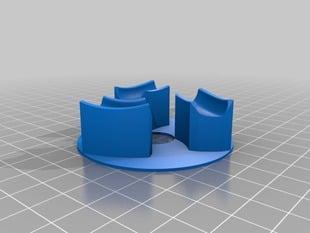 Baseplate for Triple gear