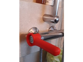 OT student project : handle for thermostatic mixing valve : poignée pour mitigeur thermostatique.