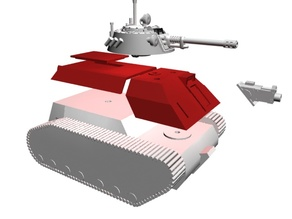 APC body extension for Tehnolog tank - TESTING