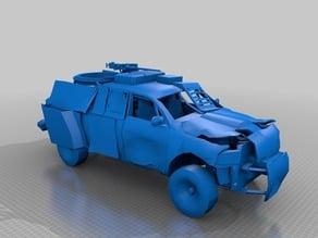 apocalypse survival car