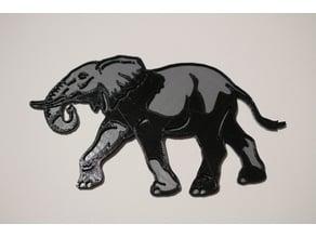 Elephant 2d Art