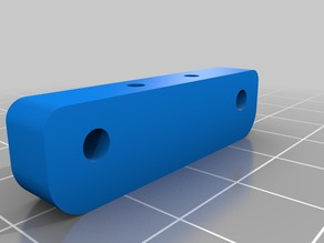 Spacer for Baofeng 18650 battery case