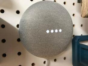 Google Home Mini - Invisible Pegboard Mount