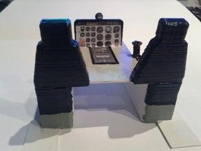 Bell 206 Cockpit for T-Rex 450 size Fuselage