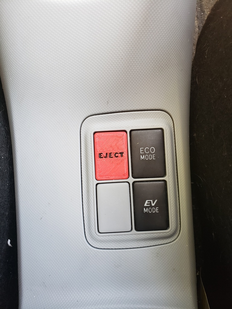 Toyota Prius C Console On Fake