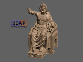 Zeus Sculpture (Statue 3D Scan)