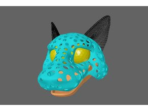 Ortha - puppet or fursuit head-base