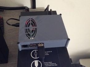 Raspberry Pi B+ / 2/3 Case for Wanhao Duplicator i3 + Relay Board