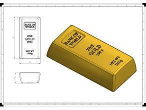 Gold bar 1kg