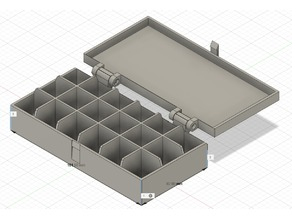 Box for screws or other small parts