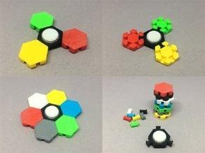 Hex Tile Fidget Spinner