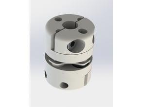 Flexible plate coupling
