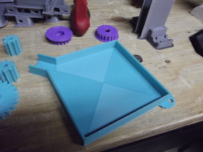Parts sorting funnel