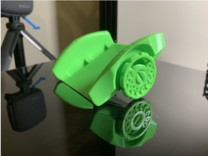 Fully Printable Guinea Pig Wheelchair V1 (just need straps)