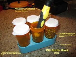 Pill Bottle Rack
