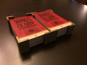 Wings of Glory WW1 Card Deck Holder