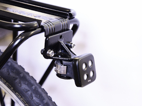 Knog Blinder Mount for Topeak Rear Bike Rack