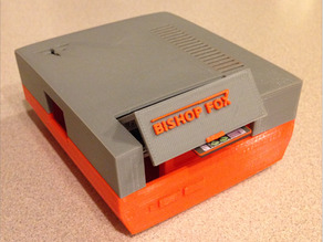 NinTastic - Bishop Fox Edition - Nintendo Style Case for the Raspberry Pi