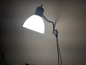 Repurposed Wal-Mart Floor Lamp