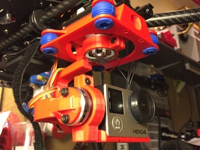 GoPro 3-axis gimbal for Tarot 680Pro