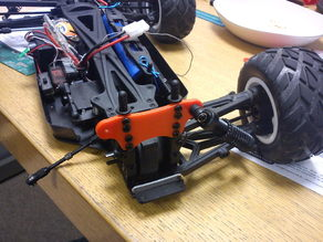 Shock tower for an Acme Racing Raptor 1/10 Truggy