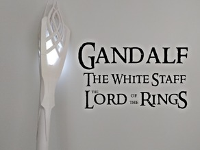 Gandalf The White Staff ( The Lord of the Rings )