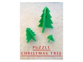 Color ME 3D Puzzle Christmas Tree