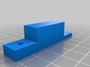 Hardware for securing webcam bracket to tool holder on a MakerGear M2 printer
