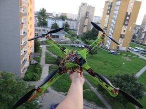 Drone/Quadcopter frame - Arduino drone - Ludwik Drone