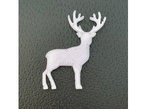 Flat Reindeer