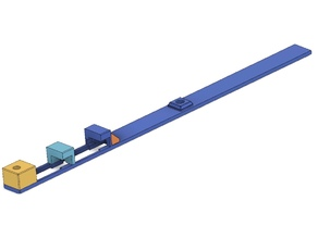 Servotray for MKS 6100 for the model glider Shinto by Vladimir's Model
