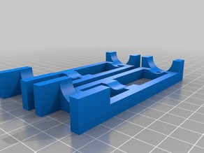My Customized Parametric Drill Guide for Z-axis Pipes Mostly Printed CNC
